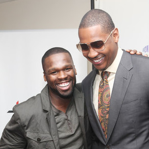 50 Cent & Carmelo Anthony Discuss Apple, Beats By Dre, SMS Headphones