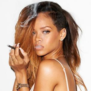 Rihanna Posts Topless TLC Photograph [NSFW]