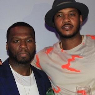 50 Cent's SMS Audio Releases Sports Collection With Carmelo Anthony