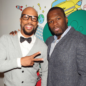 """50 Cent Says He & Common Have """"Big Things To Come"""""""
