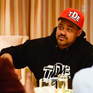 """TDE President Punch: """"good kid, m.A.A.d city"""" Set Bar For Classic Records Of Today"""