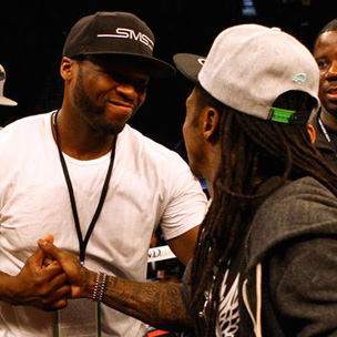 "50 Cent Performs With Drake, Lil Wayne On ""Drake Vs. Lil Wayne"" Tour"