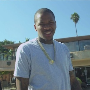 "YG Fans Protest ""My Krazy Life"" Grammy Snub In Los Angeles"