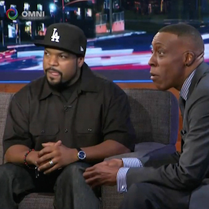 Arsenio Hall Dissed Ice Cube When They First Met, David Faustino Says