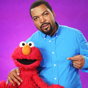 """Ice Cube Appears In """"Sesame Street"""" Skit With Elmo"""