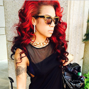 Keyshia Cole Reportedly Punched & Slashed Victim During Last Month's Brawl