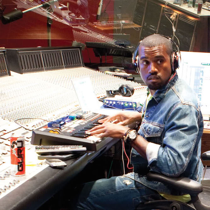 Kanye West Reportedly Plays New Music For Def Jam