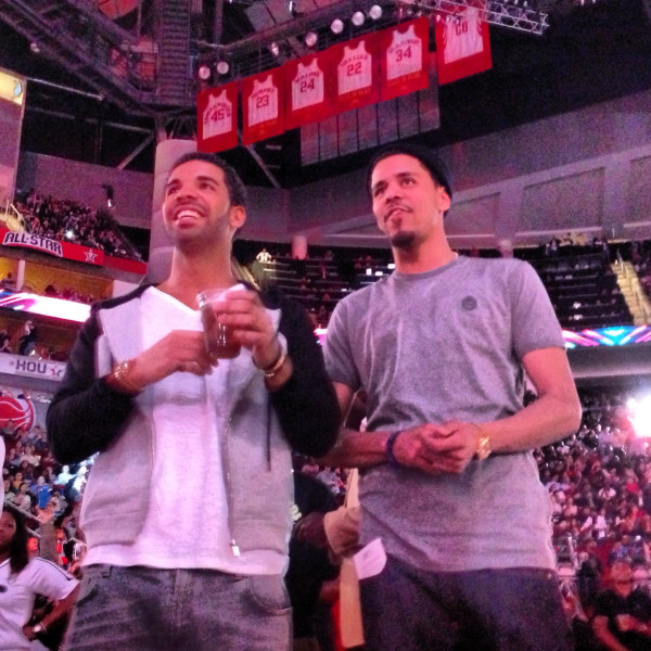 Drake Wishes J. Cole and Rick Ross Happy Birthday