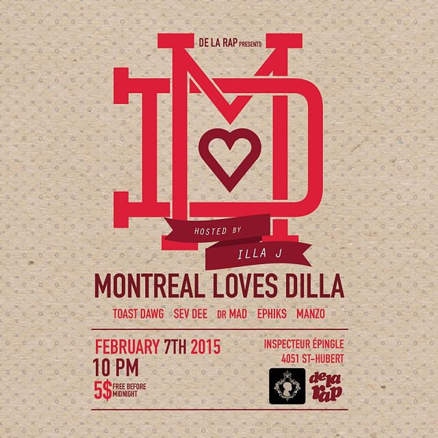 """Montreal Loves Dilla!"" Tribute Celebration"