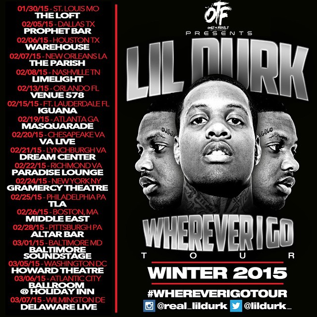 Lil Durk Tour Dates