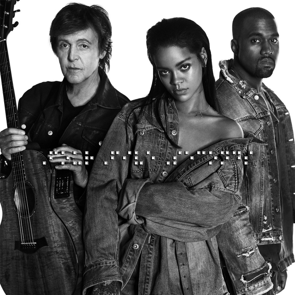 """Rihanna, Kanye West & Paul McCartney Will Reportedly Perform """"FourFiveSeconds"""" At The Grammys"""