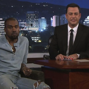 """Kanye West Slated To Appear On """"Jimmy Kimmel Live"""" At SXSW"""
