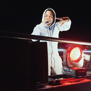 Kendrick Lamar Delivers Reebok-Sponsored Free Concert On Moving Truck Throughout Hollywood