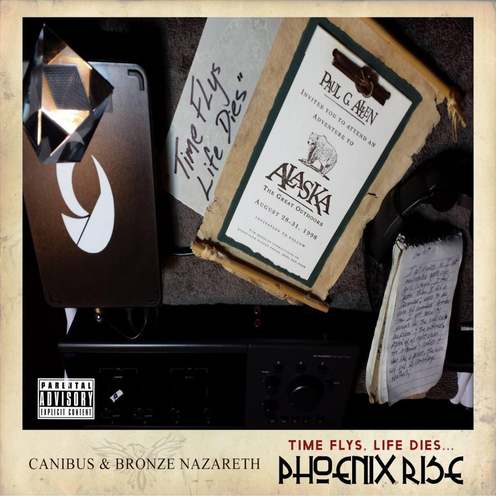 """Canibus """"Time Flys, Life Dies...Phoenix Rise"""" Release Date & Cover Art"""