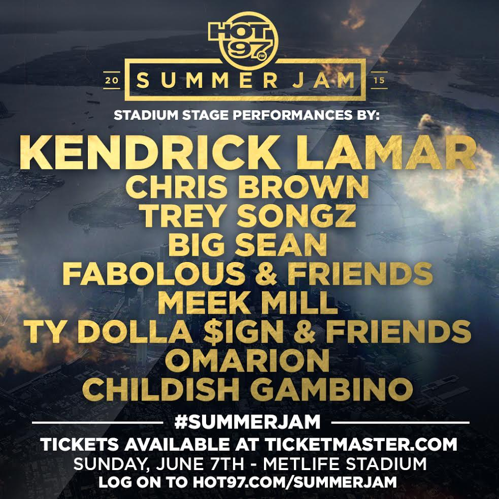 "Hot 97 ""Summer Jam"" 2015 Stream"