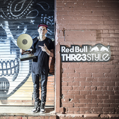 DJ J Espinosa Wins 2015 Red Bull Thre3style USA National Championship