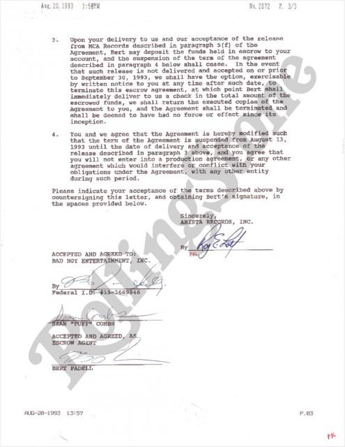 Biggie Contract 2