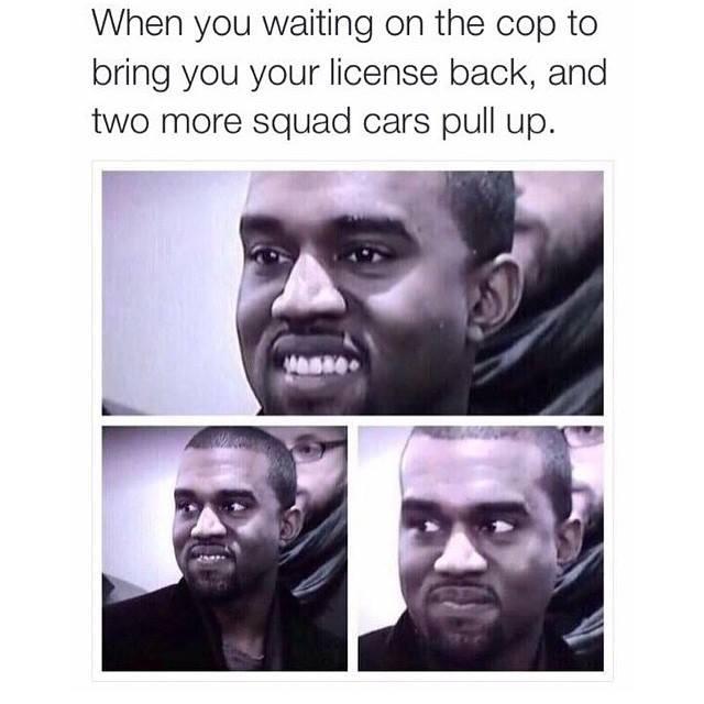 Kanye Cop