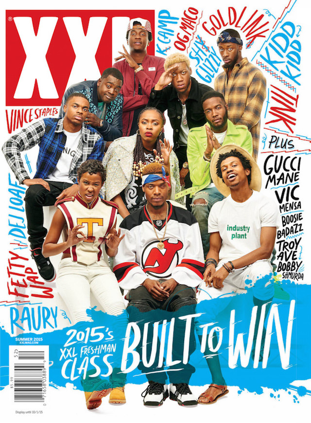 xxl magazine freshman list 2015 cover