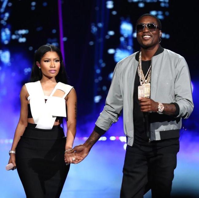 "Nicki Minaj & Meek Mill Rent Out Theater To Watch ""Straight Outta Compton"""
