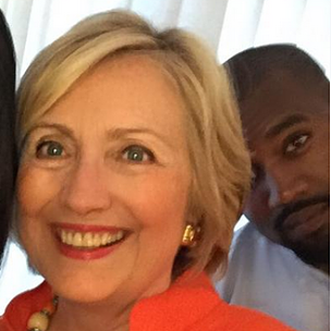 Hillary Clinton's Advice To Kanye West If He Runs For President: Wear Comfortable Shoes