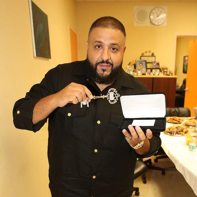 DJ Khaled Receives Key To Miami