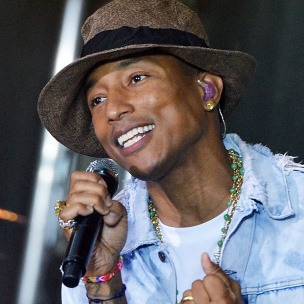 """Pharrell Williams Speaks With School Children About His New """"Happy!"""" Book"""