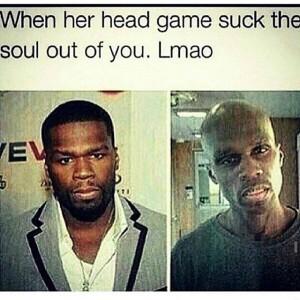 50 Cent Head