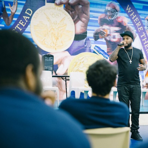 Jeezy Speaks To Youth At Philadelphia Detention Center