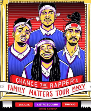 Chance The Rapper Ticket Giveaway