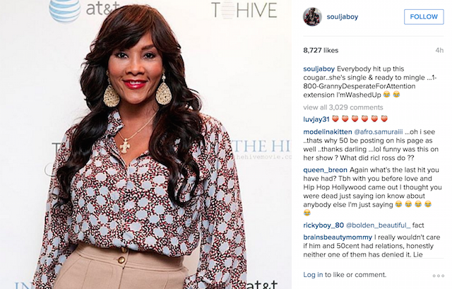 50 Cent Continues Mocking Vivica A  Fox | HipHopDX