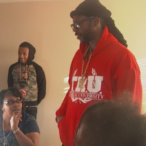 2 Chainz Visits The Home Of A Disabled Veteran