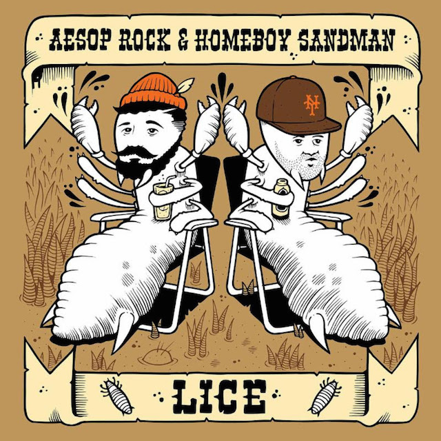 "Aesop Rock & Homeboy Sandman ""Lice"" Release Date, Cover Art, Tracklist, Download & EP Stream"