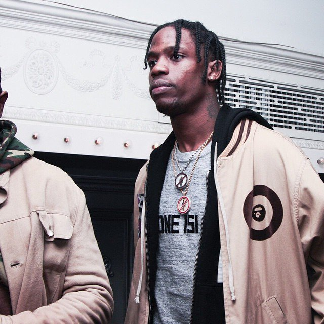 Travi$ Scott & Rihanna Reportedly Leave Nightclub After Shot Rang Out