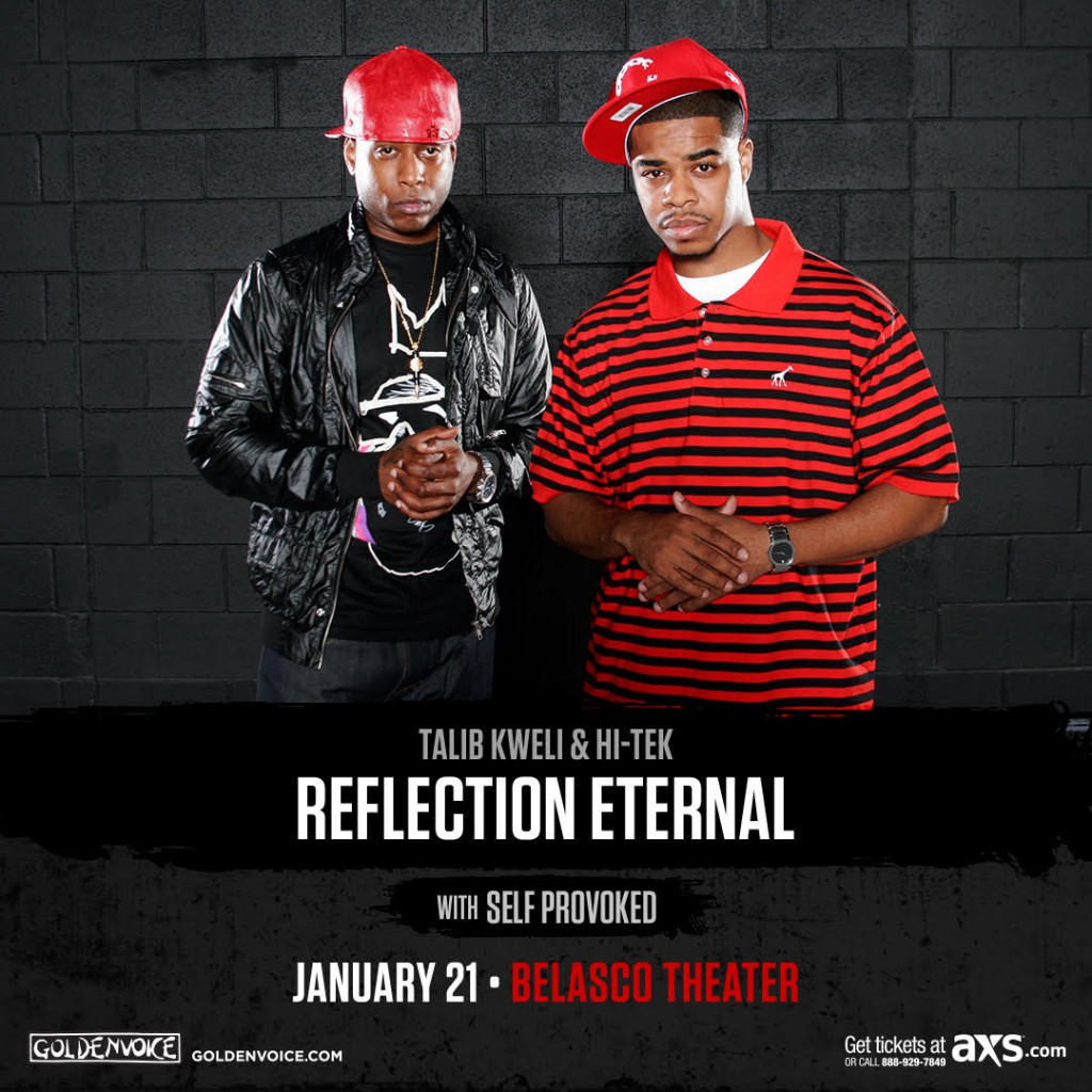 "Talib Kweli & Hi-Tek ""Reflection Eternal"" Ticket Giveaway!"