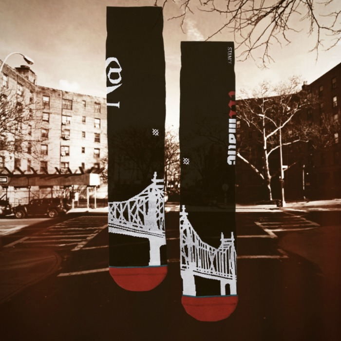 "Stance's Anthem Collection Introduces ""Illmatic"" Sock"