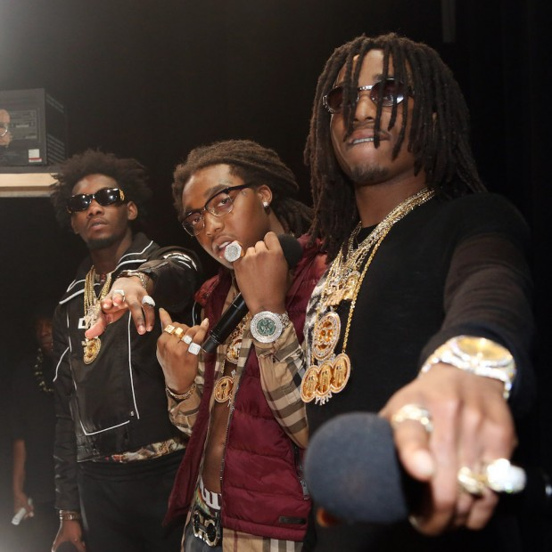 Migos Reportedly Lost $75,000 Betting On Carolina Panthers In Super Bowl 50