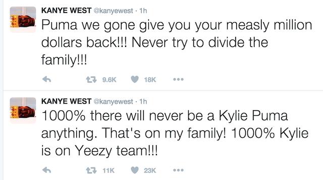 Kanye West Disses Puma 2016 020916 1
