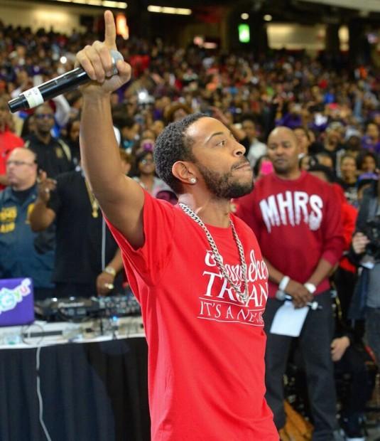Ludacris Makes His Presence Felt At 2016 Honda Battle Of The Bands