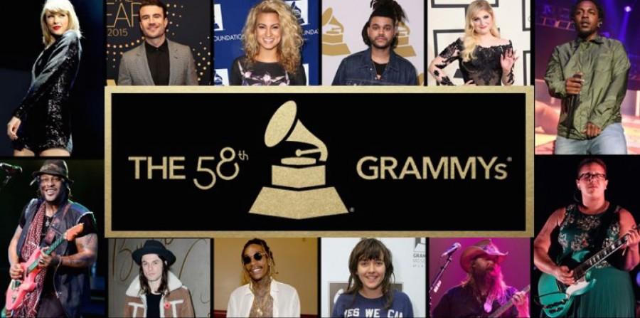 Kendrick Lamar Takes Home Five Grammy Awards
