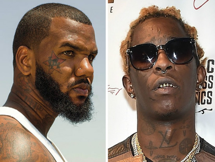 The Game Responds To Young Thug's Instagram Post About His Daughter