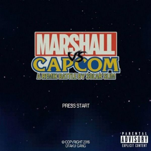 Marshall vs Capcom Otaku Gang Cover Art
