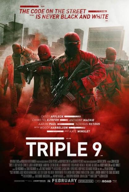 TRIPLE 9 Movie Premiere Giveaway