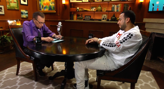 """French Montana Tells Larry King How Max B. Made """"The Life of Pablo"""""""