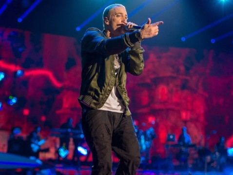 "Eminem Performs ""Fack"" Live For The First Time Ever At Lollapalooza Brazil"