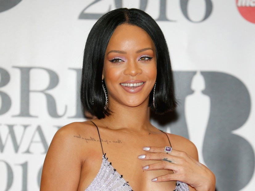 Rihanna Covers British Vogue