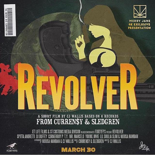 Curren$y Revolver Poster