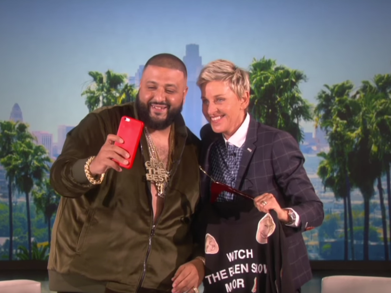 "DJ Khaled Details Health As Major Key To Success On ""The Ellen Show"""