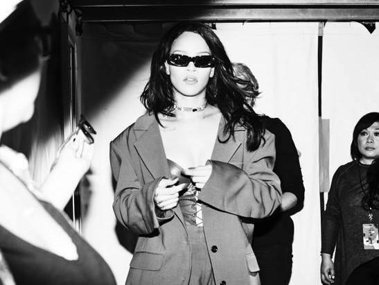 Rihanna Covers Vogue & Addresses Beyonce Comparisons