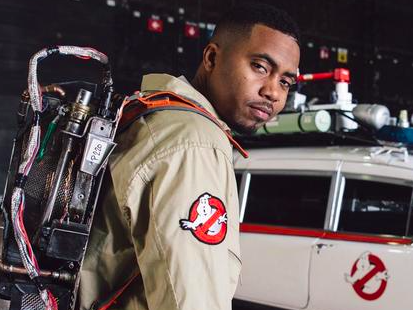 """Nas Announces Clothing Line With """"Ghostbusters"""""""